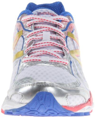 888098227086 - New Balance Women's W1080 Running Shoe,White/Pink,8 D US carousel main 3