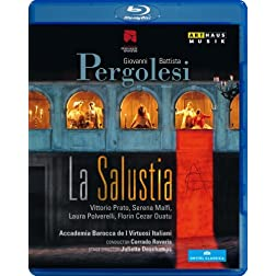 Pergolesi: La Salustia [Blu-ray]