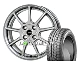 [165/50R16]BRIDGESTONE / BLIZZAK VRX スタッドレス [2/-][HOT STUFF / G.speed G01 (MSL) 16インチ] スタッドレス&ホイール4本セット ステラ(LA100F系)、ムーヴ(LA100系)