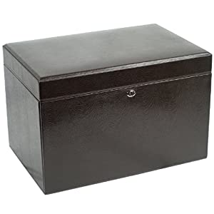 Wolf Designs 315006 London Cocoa Large Jewelry-Boxes