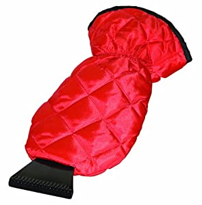 Bags For Less Deluxe Lined Ice Scraper Glove Mitt, Red with Black by Bags for LessTM at Sears.com