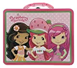 Strawberry Shortcake Embossed Metal Lunch Box