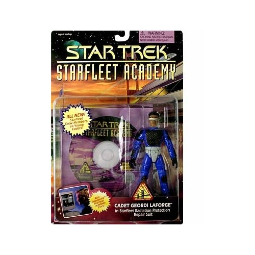 Star Trek Starfleet Academy Series - Cadet Geordi LaForge Action Figure