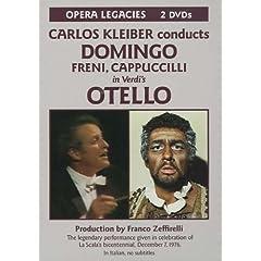 輸入盤DVD C.クライバー指揮/ミラノ・スカラ座 ドミンゴ、カプチッリほか ヴェルディ:歌劇《オテロ》 のAmazonの商品頁を開く