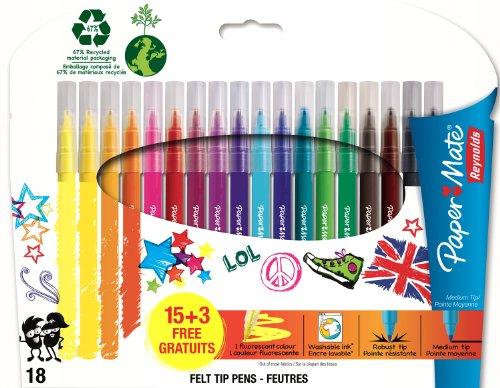 paper-mate-reynolds-18-feutres-de-coloriage-teens