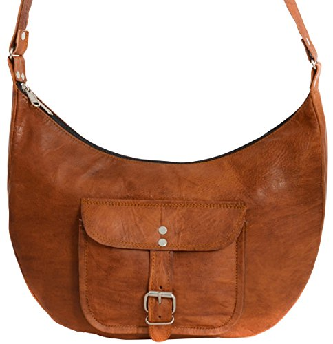 Borse A Tracolla Per Moto : Gusti pelle nature  mira borsa cuoio a tracolla marrone