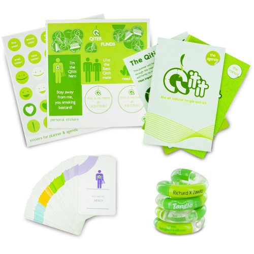 Tangle Quit It Kit - Everything You Need To Quit Smoking! front-847507