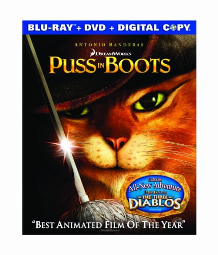 Cover art for  Puss in Boots (Two-disc Blu-ray/DVD Combo + Digital Copy)