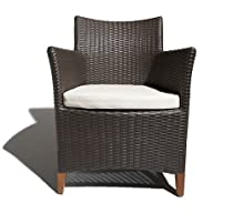 Buy Cheap Strathwood Cypress All-Weather Wicker Bistro Chair, Brown