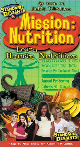 Standard Deviants: Mission Nutrition [Vhs]