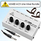 51MW1FS0 NL. SL160  Behringer MX400 Ultra Low Noise 4 Channel Line Mbox 2 Pro Bundle With Accessories ..Buy This