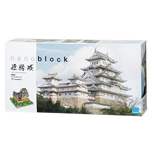 Nanoblock Architecture - Himeji Castle Non-lego - 2253 Pieces