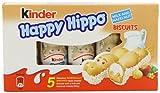 Kinder Happy Hippo Hazelnut 5 x 103.5 g (Pack of 10, Total...