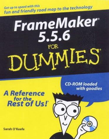 FrameMaker 5.5.6 For Dummies