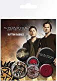 "GB eye ""Supernatural"" Saving People Badge Pack, Set of 6, Multi-Colour"