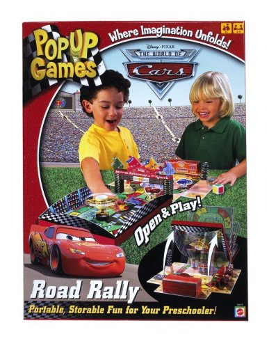 Cars Pop Up Road Rally Game