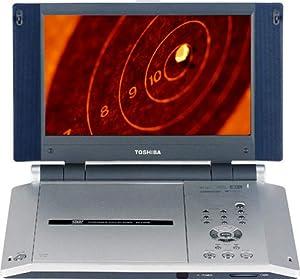 Toshiba SD-P2600 8.9-Inch Portable DVD Player , Silver
