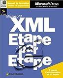 echange, troc Michael J. Young, Active Education - Xml - etape par etape - manuel d`auto-apprentissage - cd-rom - francais