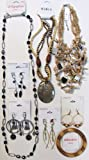 8 Below Wholesale Jewelry Lot Costume Fashion Mixed XHILARATION MERONA MIXIT includes 1 Bracelet 3 Necklaces 4 Earrings INVENTORY LIQUIDATION CLEARANCE SALE