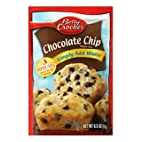 Betty Crocker Muffin Mix, Chocolate Chip, 6.5-Ounce Pouches (Pack of 24)