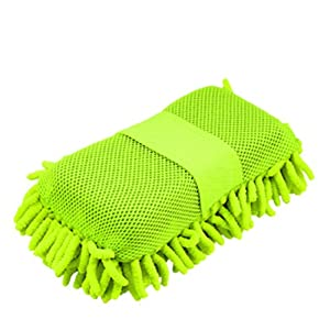 Amico Car Auto Green Microfiber Cleaning Wash Sponge Pad by Amico
