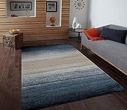 Green Blue Ivory Beige 5\'2x7\'2 Area Rug Modern Carpet Large New