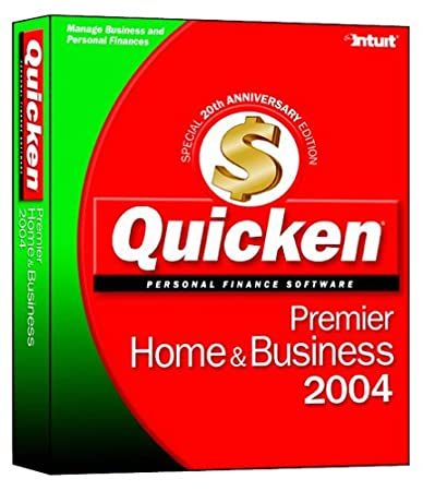Quicken 2004 Premier Home & Business