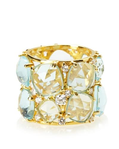 Crislu Aqua Candy Couture Ring As You See