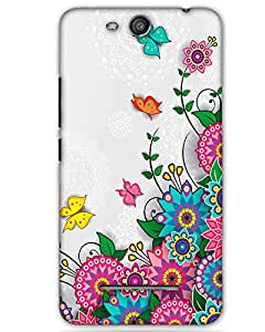 WEB9T9 Micromax Canvas Juice 3 Q392back cover Designer High Quality Premium Matte Fi...