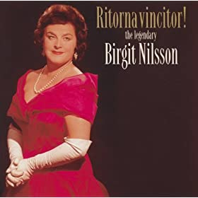 Ritorna Vincitor! - the legendary Birgit Nilsson (2 CDs)