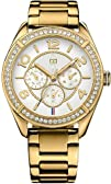 Tommy Hilfiger Womens 1781253 Sport Gold Multi-Function Watch