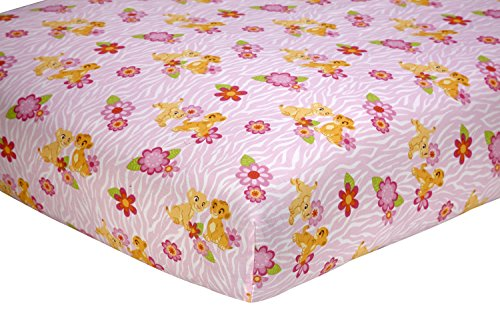 Disney Nala's Jungle Fitted Sheet