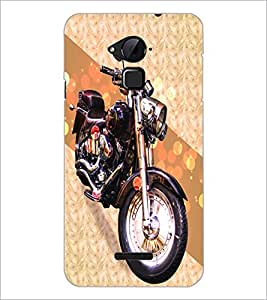 PrintDhaba Bike D-3432 Back Case Cover for COOLPAD NOTE 3 LITE (Multi-Coloured)