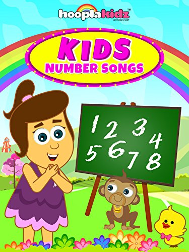 Kids Number Songs by HooplaKidz