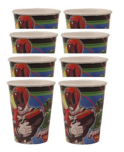 Power Rangers SPD 9oz Cups (8 Count)
