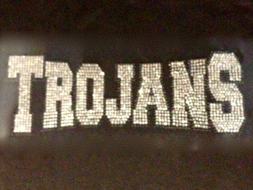 Trojans Mascot Rhinestone Transfer Iron On