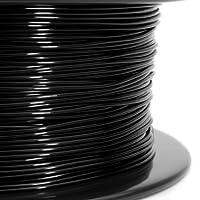 Gizmo Dorks 3mm (2.85mm) PLA Filament 1kg / 2.2lb for 3D Printers, Black by Gizmo Dorks