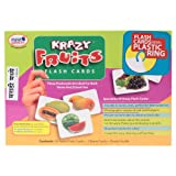 KRAZY Fruits - Marathi Flash Cards With Ring