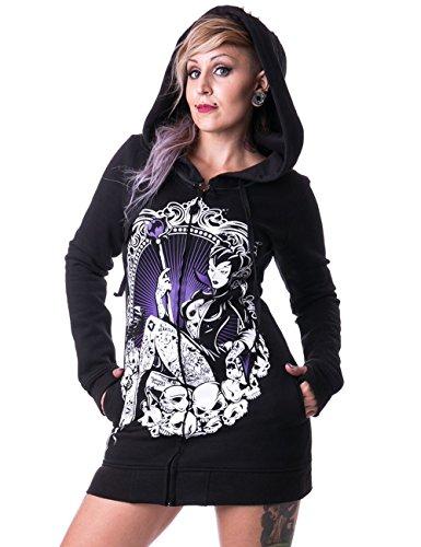 Heartless Clothing -  Felpa con cappuccio  - Donna nero X-Large