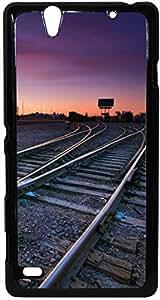 FCS Printed 2D Designer Hard Back Case For Sony Xperia C4 Design-20502