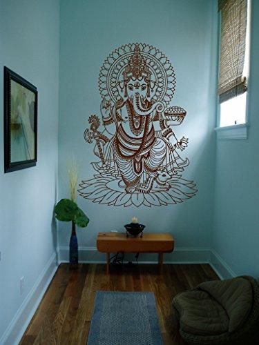 Ik430 Wall Decal Sticker Room Decor Wall Art Mural Indian God Om ...