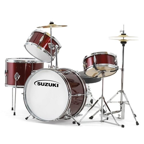 Suzuki SDK-4P 4-Piece Mini Drum Set