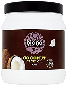 Biona Organic Raw Virgin Coconut Oil 800 g
