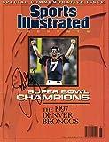 John Elway Autographed/Signed Denver Broncos Sports Illustrated 2/4/98 JSA