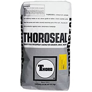 thoro water proof coating exterior gray 50 lb wall surface repair. Black Bedroom Furniture Sets. Home Design Ideas