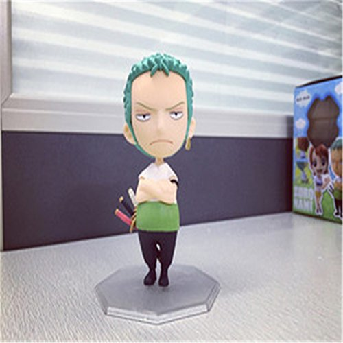 Marry-R One Piece POP Q Version Excellent Model Film Edition Japanese Anime One Piece Figures Zoro Action Figurine Collectible Boxed