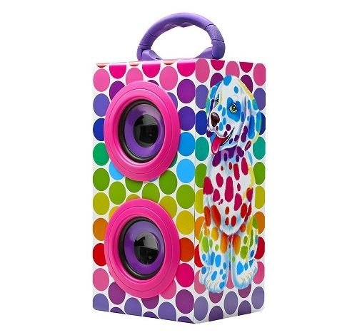 все цены на  Lisa Frank Spotty and Dotty Puppy Portable Bluetooth Speaker  в интернете