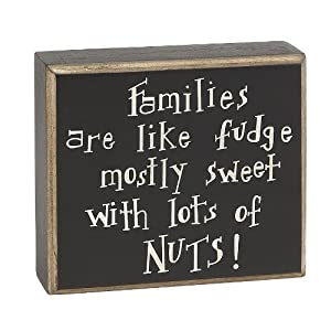 Collins Families Are Like Fudge Box Sign