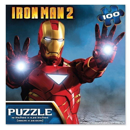 Iron Man 2 100 Piece Jigsaw Puzzle - 1