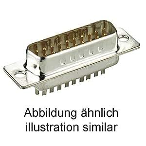 Goobay SUB-D-Standard Stiftleiste 9-polig Lötkelch